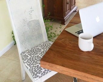 Custom Made Cane Back Chairs