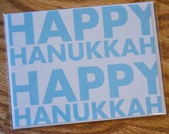Happy Hanukkah / Holiday / Hanukkah / Chanukkah Note Card