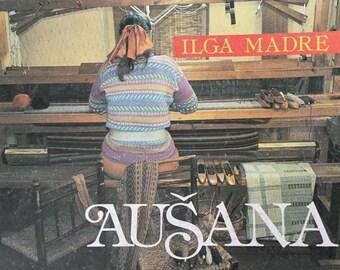Book:  'Aušana' or  'Weaving' (translated from Latvian)