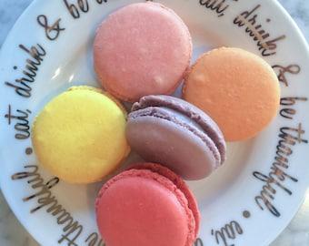 Sampler  (6 macarons)