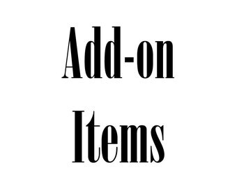 Additional item