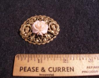 Pink Rose Brooch(575)
