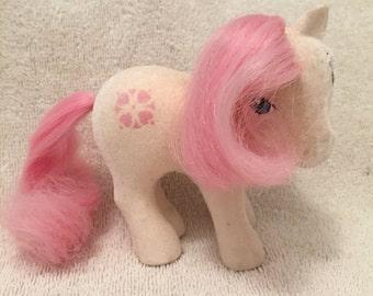 Vintage Sundance Flocked My Little Pony