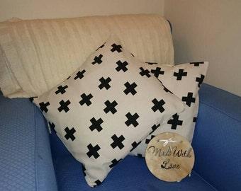 1 x monochrome cushion covers