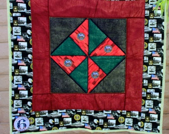 Army Military Lap Quilt