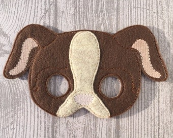 Puppy mask, dog mask, child mask, pretend play