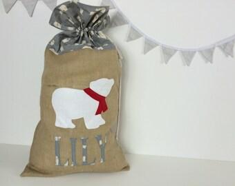 Large Personalised Christmas Sack