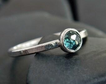 Minimalist Engagement Ring Etsy