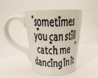Edward Scissorhands - Tim Burton - Johnny Depp - 90's - 80's - Dancing - Mug