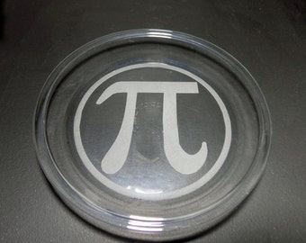 Pi Day Dish - March 14 Dish - 3.14 Math Joke Dish - Pi Day Pie - Math Teacher Gift - Algebra Gift - Calculus Gift - Advisor Gift - Math Joke