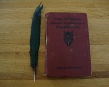 1912 Vintage Ethel Hollister's Second Summer CAMPFIRE GIRL Hardcover BOOK Library Study Memorabilia Girl Scout Collection Nature Earthy