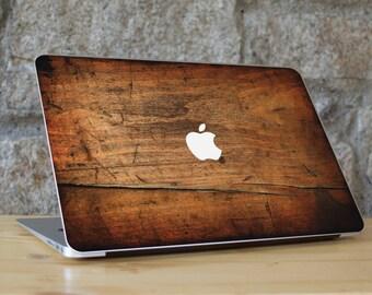 Wood Macbook Skin, Wood Skin Laptop, Wood Skin, Wood Cover Macbook, Wood Decal Macbook, Macbook Air Wood Skin, Wood Macbook Pro Skin