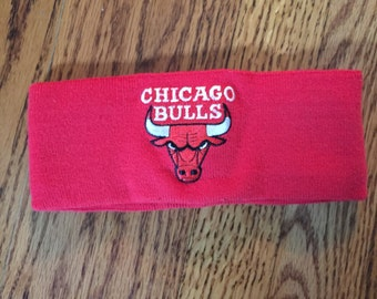 Vintage Chicago Bulls headband by Logo 7