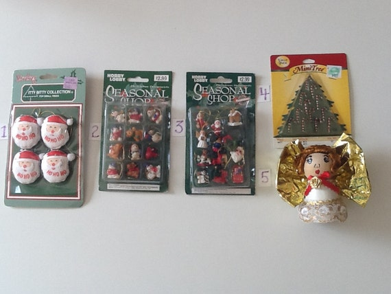 miniature decorations by bowhemiansurplus on etsy