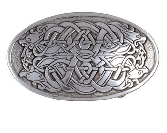 Serpent belt buckle large 40mm-Hand Made and Design in UK