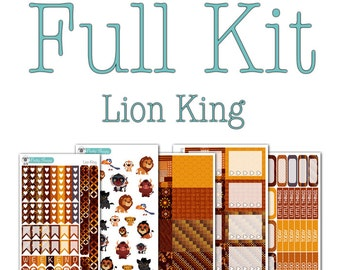 Lion King Collection - Disney Planner Stickers