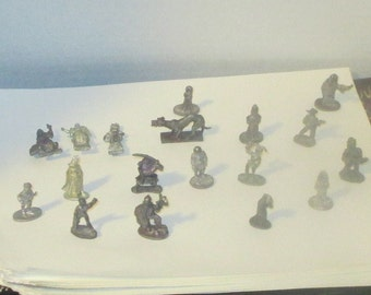 18 1980's Grenadier Lead Minatures