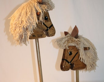Handcrafted Wooden Hobby Horse