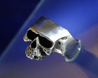 Skull Ring Bad to the Bone Sterling Silver