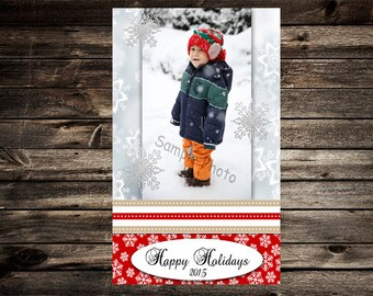 Personalized Chrismtas Card, DIGITAL DOWNLOAD, Holiday Photo Card, Christmas Photo Card, Printable,  Personalized, Christmas, christmas card