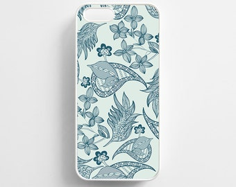 Blue Paisley Pattern. iPhone 4/4s, iPhone 5/5s, iPhone 5c, iPhone 6, iPhone 6 Plus Case Cover 052