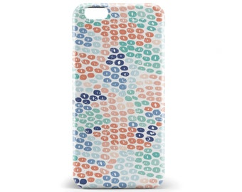 1397 // Watercolor Geometric Blue Green Pink Phone Case iPhone 5/5S, 6/6S, 6+/6S+ Samsung Galaxy S5, S6, S6 Edge Plus, S7