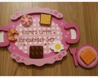 Personalised Breakfast Children's Toy Set - 00006