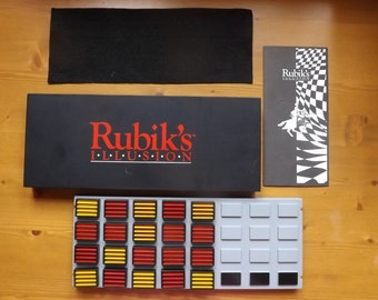 RUBIK'S ILLUSION. Vintage Puzzle. Strategy Game. 1989. Complete. Rare and Collectable.