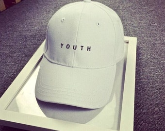 White Youth Hat