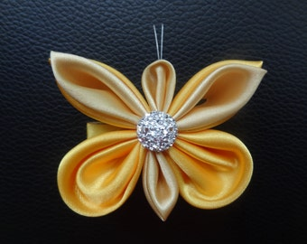 Butterfly hair clip,hair accessory,kanzashi
