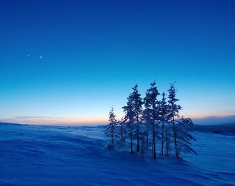 Planetary Twilight - Signed Lustre Print