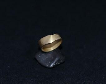DANNAUS ring : modern bronze ring
