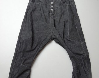 original trousers in black corduroy