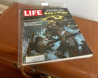 Vintage Life Magazine - 1960's Magazine - 1963 Life Magazine - Vintage Advertising - Collectible Magazine
