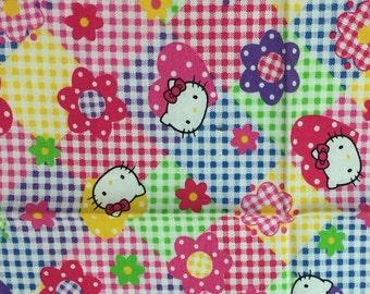 Child's Handkerchief Sanrio Hello Kitty 1996 Vintage hankies