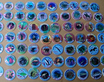 1995 Our World Pogs - Complete Set of 70