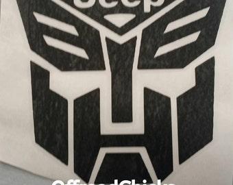 Transformer decal