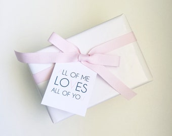 Luxury Linen All of Me Gift Tags