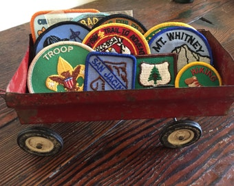 Old boyscout patches....never used