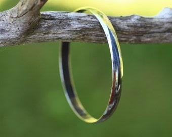 Vintage Modernist Einar Modahl, Norway. Bracelet bangle. Sterling silver.