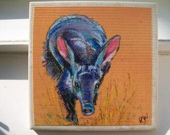 Aardvark NoZoo Art Tile