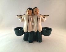 SALE - Vintage Asian Planter Figurine - Mid-Century