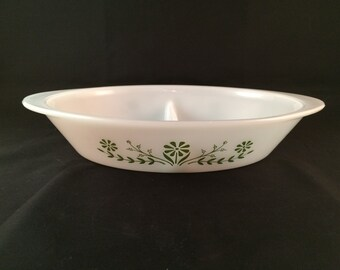 SALE - Glassbake Divided Casserole Dish