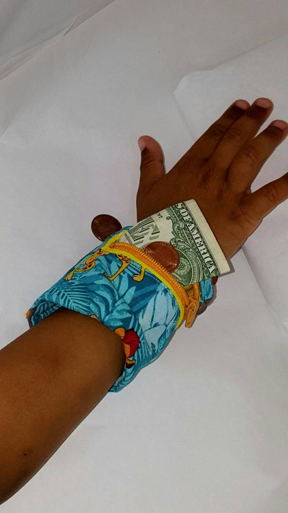 Wallet Bracelet Cuff