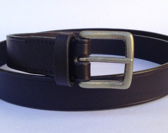 Leather Belt black//belt//black leather belt