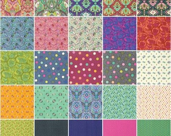 PREORDER - Tula Pink Slow and Steady Fat Quarter bundle of 25