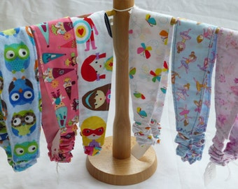 Fabric Hairband elasticated, various fabrics available, child or adult