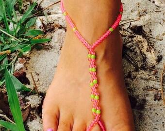 Ocean Sea Turtle Barefoot Sandals