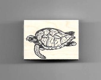 HONU (Sea Turtle) rubber stamp