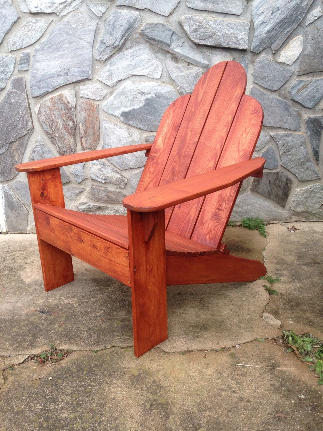 Adirondack chairs by lostfoundrecreations on etsy - Patterns for adirondack chairs ...